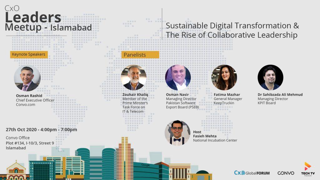CxO Global Forum – Islamabad Meetup