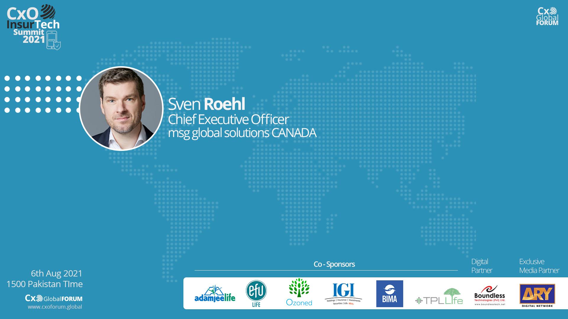 Presentation by Sven Roehl