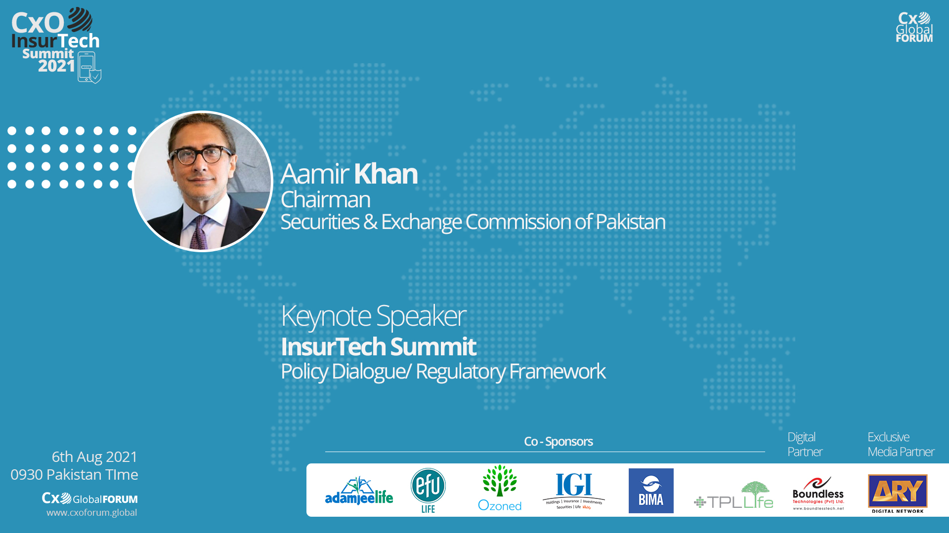 Keynote by Aamir Khan, Chairman SECP