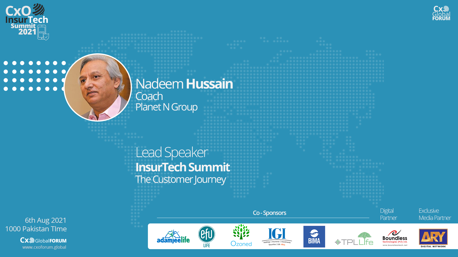 Lead Session by Nadeem Hussain