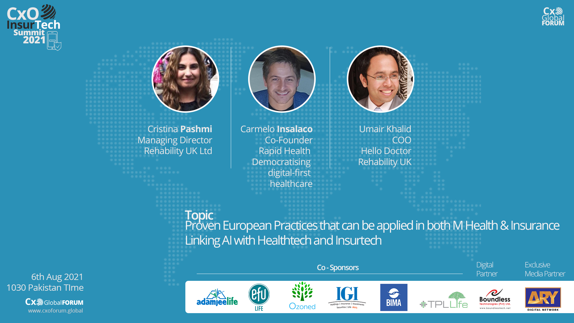 Proven European Practices that can be applied in both M Health and Insurance